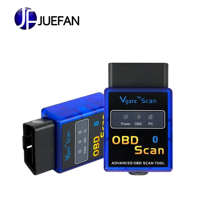 High Quality Super Mini ELM327 Bluetooth V2.1 OBD2 Auto Code Reader Mini 327 Car diagnostic interface ELM 327 Bluetooth