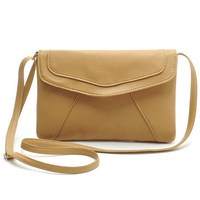 Vintage Leather Handbags Hot Sale Women Envelope Clutches Ladies Party Purse Famous Designer Crossbody Shoulder Messenger