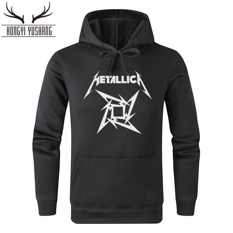 2018 Heavy Metal Rock Band Metallica Hoodies Men Cotton Winter Sweatershirt Hoody With Hoodie For Men Women Pullover W25 Erfrischend Und Wohltuend FüR Die Augen