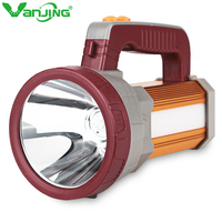 LED Searchlight 15600mAh Outdoor Spotlight Flashlight Portable Handheld Camping Torch Long Shots Lamp for Fishing Hiking Hunting