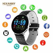 Men & Women L6 Full Screen Touch Thinner Smart Watch IP68 Waterproof Multiple Sports Mode DIY Watch Face 250Mah Fitness Bracelet