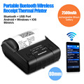 Excelvan ЕС 80 мм Ручной Портативный Bluetooth Принтер Impressora Термальный Чековый Билетов Принтер Штрих-Кода для Android IOS Windows,
