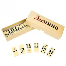 28Pcs/Set Wooden Domino Board Games Domino Toys Travel Funny Table Game 2018 Kid Children Educational Toys For Children Gifts
