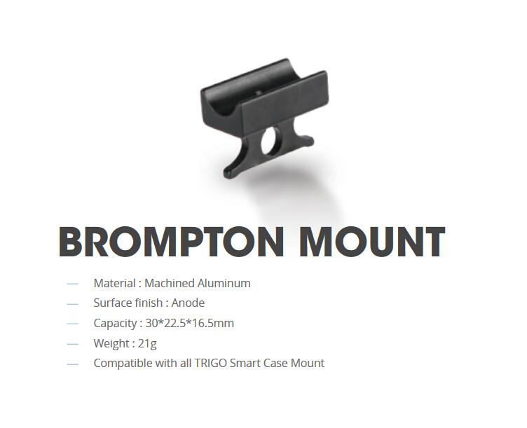 Pour BROMPTON GoPro Mount Noir