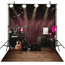 Music Photography Backdrops Stage Vinyl Backdrop For Lighting Background Photo Studio Foto Achtergrond