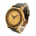 2016 New Wooden Watch Luxury Brand Round Wood Case Women Men Quartz Clock Relogio Masculino