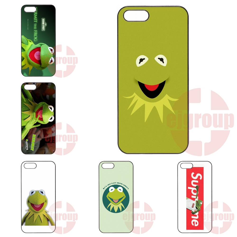 Kermit The Frog Muppets Coque Case Capa For Apple iPhone 4 4S 5 5C SE 6