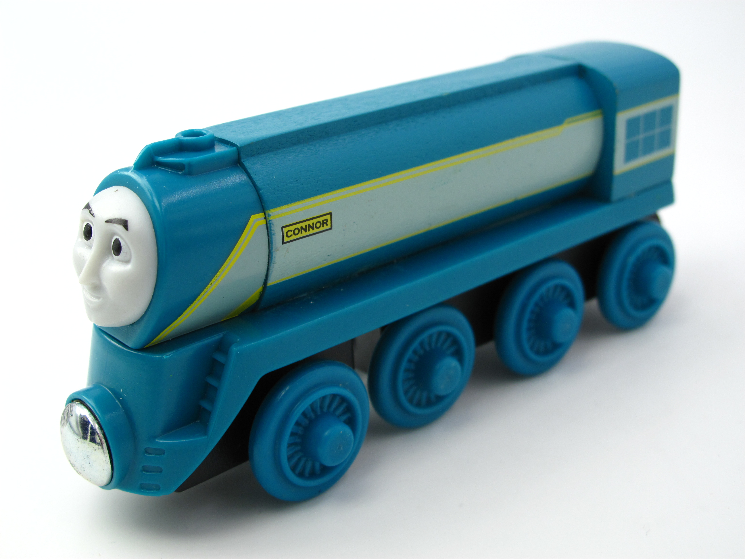 Wooden Thomas Train T030W CONNOR Thomas And Friends Trackmaster Magnetic Tomas Truck Car Locomotive Engine Railway Toys for Boys