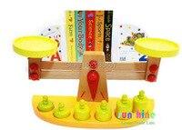 Nuovo giocattolo in legno blocchi di legno di bilanciamento del peso del bambino giocattoli educativi per bambini giocattolo baby gift spedizione gratuita