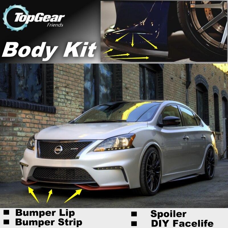 Aliexpress.com : Buy Bumper Lip Deflector Lips For Nissan ...
