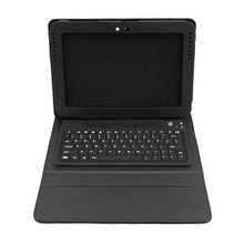 New Waterproof Soft Siliocn Wireless Bluetooth Keyboard Stand PU Leather Cover Case For Samsung Galaxy Note