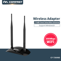 COMFAST High Power 300M USB Wireless WiFi Adapter Network Card Adaptador USB WiFi Antenna Wi Fi