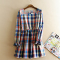 On sale maternity clothes long sleeve organic linen pregnant dress autumn spring