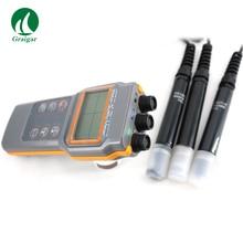 Upgraded Version AZ86031 PH, Conductivity, Salinity, D.O Triple Meter Water Quality Tester AZ86031 PH Meter