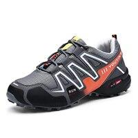 2019 dewbest speed Cross 3 CS серая Спортивная обувь дышащая кроссовки zapatillas Мужская Спортивная мужская беговая Обувь