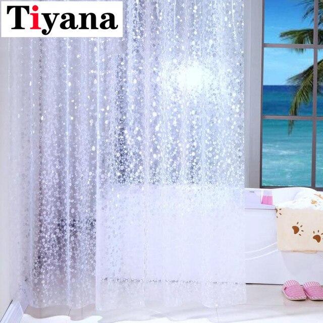 Impermeabile Tenda Della doccia Mouldproof Ispessimento Ratchel Modello Finito B