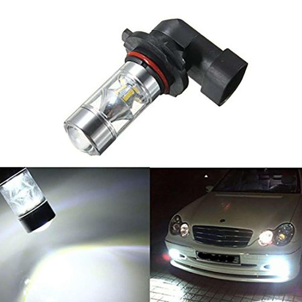 1pcs 9006 HB4 12SMD 100W LED High Power Fog Day Running Light DRL Driving lights Bulb White Projector Lens Led Car Fog Lamp можно ли продать полдома без приватизированной земли