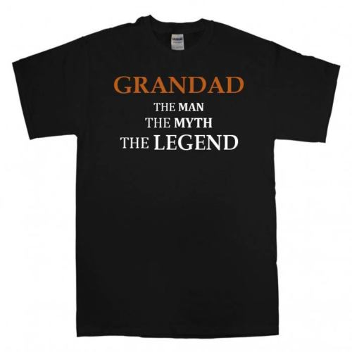 NEW Awesome Grandad T Shirt Fathers Day Gift Xmas Present Cool Birthday Funny New T Shirts Funny Tops Tee New Unisex Funny Top
