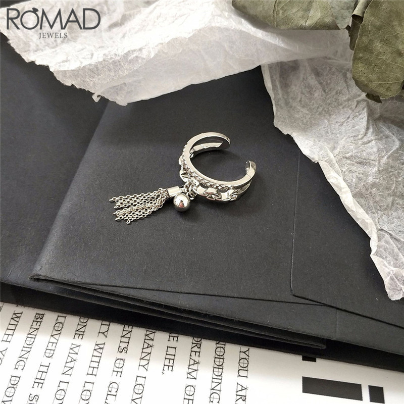 Gs New Arrival Silver Color Round Rings For Women Adjustable Ball Ring Fashion Geometry Wedding Rings Jewellery Anel Feminino R4 Rich In Poetic And Pictorial Splendor