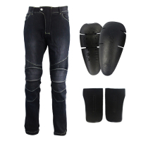 Motorcycle Protective Jeans moto Autocycle Protection Pants Motocross Hip protector moto Trousers Racing CE Knee pads Jeans