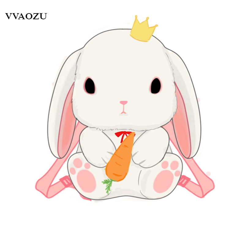 Japanese Cartoon Rabbit Bunny Lolita Backpacks Kids Toy 3D