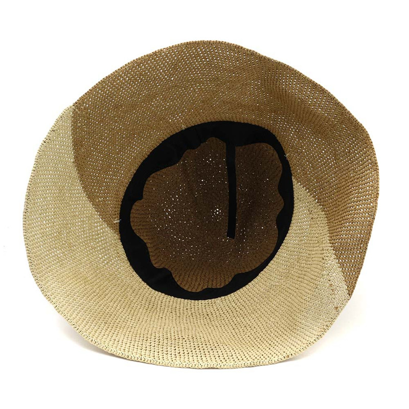 XdanqinX Foldable Lady 39 s Hand woven Straw Hat Bucket Hats Elegant Fashion Breathable Beach Hats For Women 2019 New Women 39 s Cap in Women 39 s Bucket Hats from Apparel Accessories