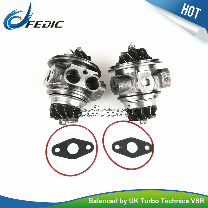 Twin turbo left right side TD03 49131 07030 49131 07040 Turbo charger cartridge chra for BMW