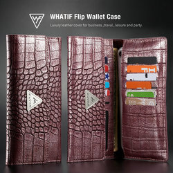 CaseMe Universal Phone Bag For iPhone Xr Xs Xs Max 8 Credit Card Flip Wallet Leather Case For Huawei Mate 20 / 20 Pro Pouch