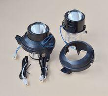 купить car bifocal fog lens for CHEVROLET CRUZE 08-09  CRUZE HATHBACK 11,Taiwan product,Front bumper lights,free shipping онлайн