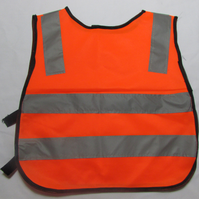 Hot Product Details Child Safety Vest Vest Gray Reflective Traffic Garment Green Orange Windproof Waterproof Safety Clothing