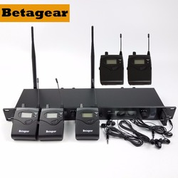 Betagear SR2050 IEM 5 Receivers Wireless In-ear Monitor System UHF Stage IEM System Stage Monitoring 5 Monitor IEM