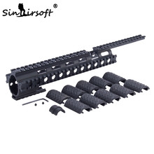 цена на SINAIRSOFT MNT-T228 Tactical Quad Rail System for Ruger 10/22 Commando Handguard with Interlocking System SA4050
