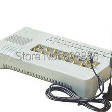 GSM VOIP шлюз с 16 sim-картами GOIP 16 IMEI Изменение поддержка sim банк(с короткими антеннами