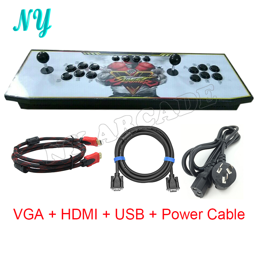 Pandora box 4S /4X 800 in 1/680 in 1 Home Arcade Game Console for TV & Monitor Support HDMI /VGA/USB Output  with pause function