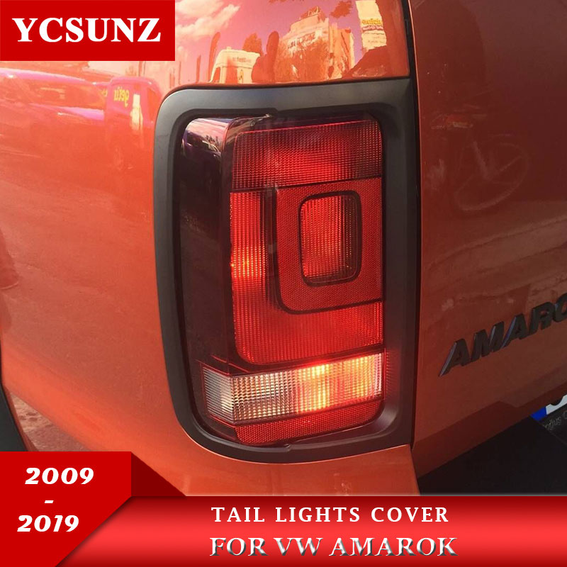 Tail Lights Covers Surrounds Trim For Vw Amarok 2009 2010 2011 2012 2013 2014 2015 2016