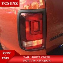 Задние фонари обложки Вокруг Накладка для Vw Amarok 2009 2010 2011 2012 2013 из АБС-пластика