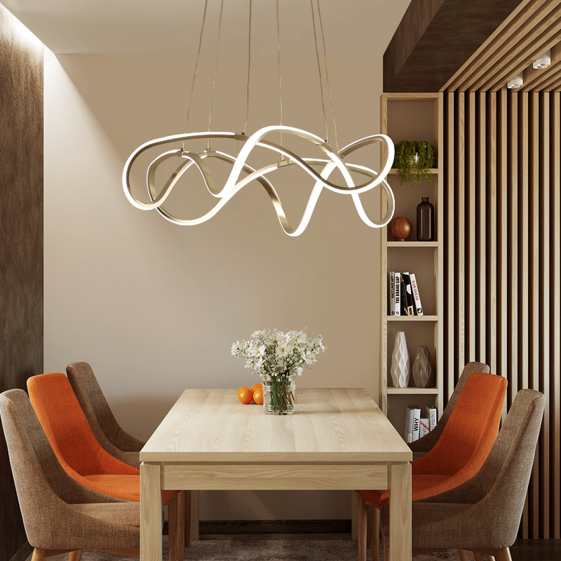Lamparas Para Comedores Modern Led Chandelier For Kitchen Dining Room Living Room