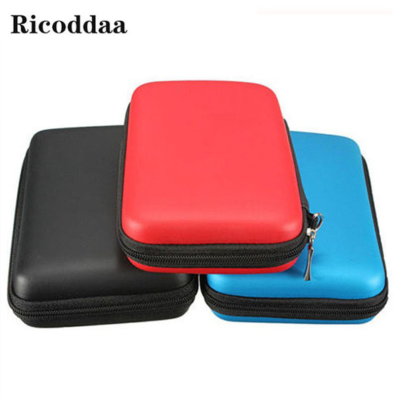 все цены на Hard EVA Travel Carrying Case For New 3DS XL Bag Pouch Protective Cover Storage Bag For Nintendo New 3DS XL LL Game Accessories онлайн