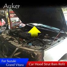 Para Suzuki Grand Vitara Escudo 2005-2020 cubierta del motor del capó delantero del coche soporte de la barra hidráulica de elevación del puntal del resorte soporte de las barras de choque