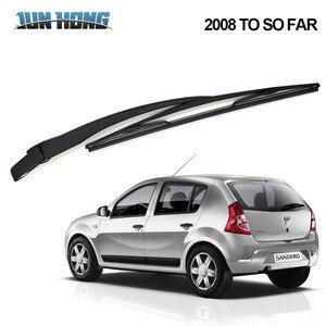 JunHong задние щетки стеклоочистителя и рычаг для DACIA Sandero 2008 до сих пор лобовое стекло резиновые автомобильные аксессуары заднее окно