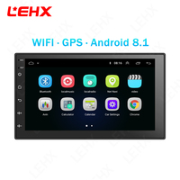 Car Android 8.1 Universal Car Radio multimedia player with GPS Navigation Video Player For Volkswagen Nissan Kia Toyota CR V