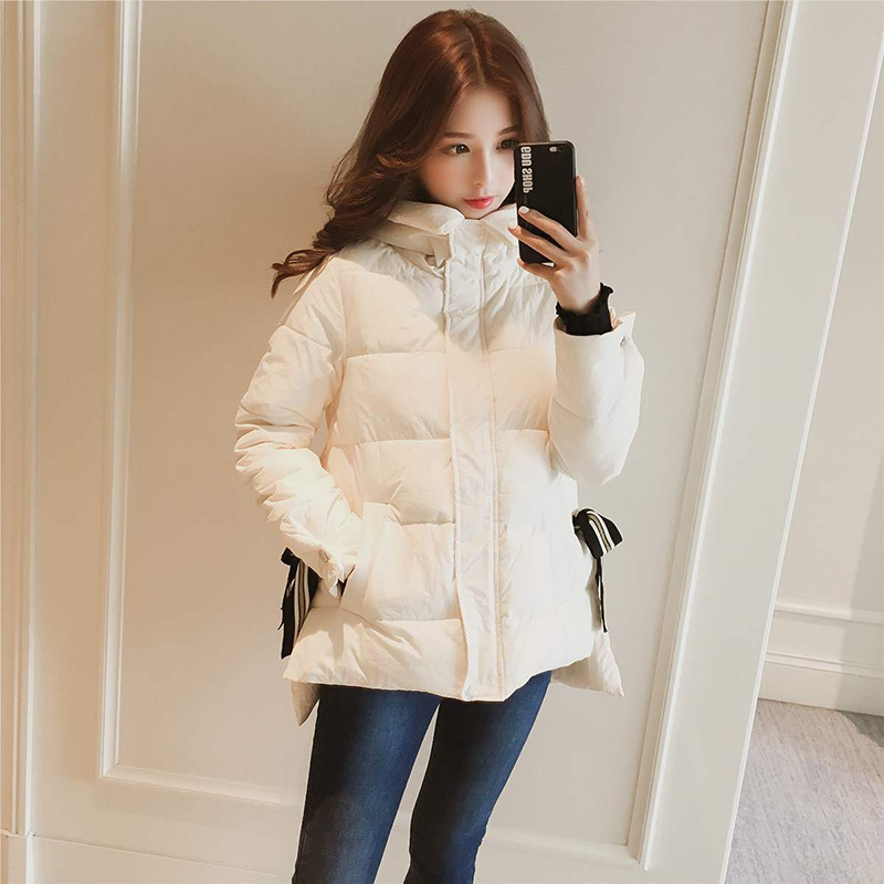 Winter Korean version of the thick short cotton clothing female 2019 new wave wild bread down jacket A308