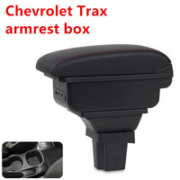 For Chevrolet Trax armrest box central Store content box products interior decoration Storage Center Console accessories