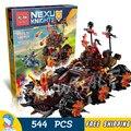 544 шт. Новый 14018 Рыцари Общие Magmar's Siege Machine судьбы строительные блоки игрушки Nexus Совместимо С Lego