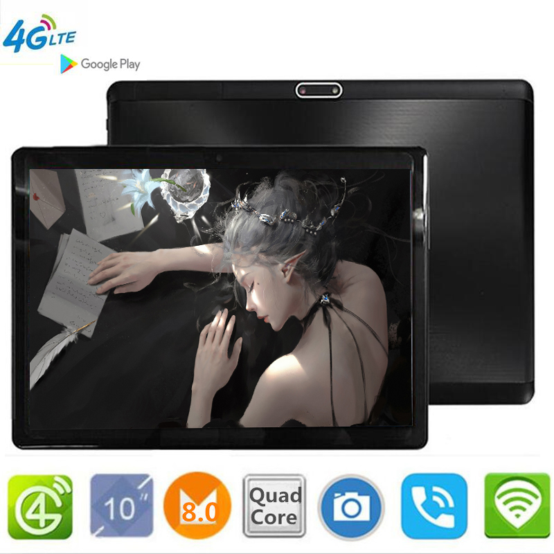 CARBAYTA S119 tablet PC 3G 4G LTE FDD Android 8.0 2.5D Glass tablets 4GB RAM 32GB ROM WiFi GPS 10.1' The tablet IPS Screen 5MP