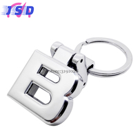 Car Accessories Key Chain Key Ring Metal Key Holder Auto Styling For B Logo For Mercedes