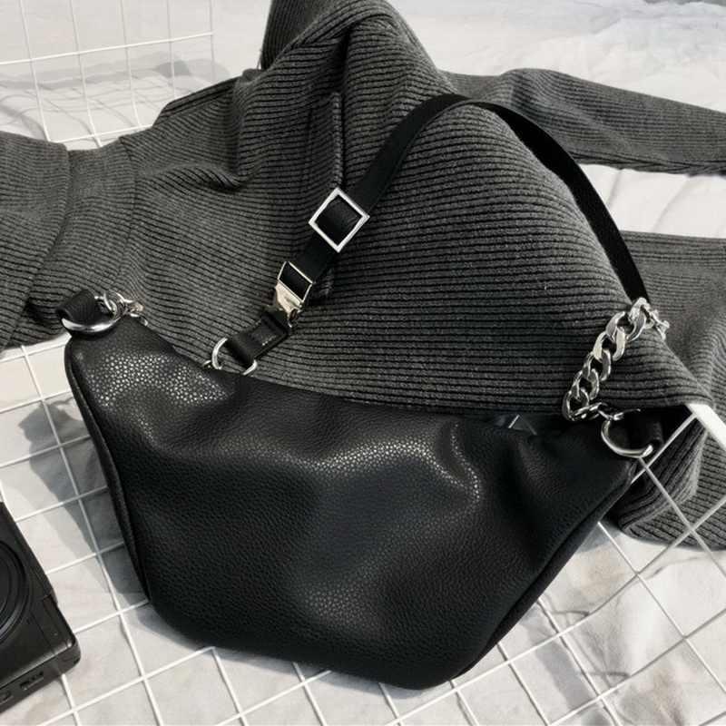DIINOVIVO модная поясная сумка с цепочкой банан поясная сумка новый бренд поясная сумка Женская поясная сумка из искусственной кожи нагрудная сумка для живота WHDV0462