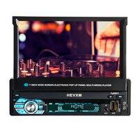 HEVXM/9901 г. 7 дюймов Экран может моторизованный pop up или отступить Сенсорный экран навигационная MP5 плеер FM радио mp3 плеер