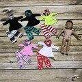 América set muñeca sólo niñas renos de navidad 3 bufanda trajes ropa azteca muñeca partido conjunto boutique de regalos sin accesorios