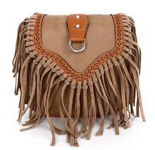 Summer European&American style women single shoulder bags Tassel crossbody bags handbags shoulder bags women versatile bags
